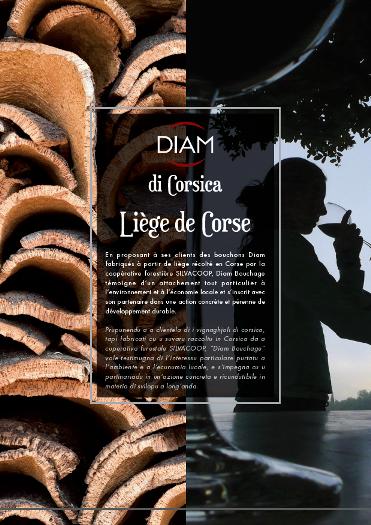 Diam Bouchage launches Corsican cork