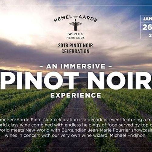 Pinot Noir Celebration in South Africa