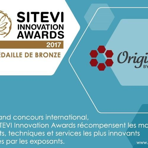 Origine by Diam, médaillé aux SITEVI INNOVATION AWARDS 2017