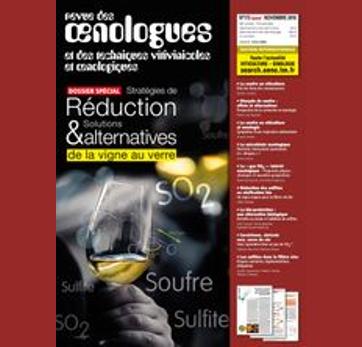 FRANCE - Revue des Œnologues n°173 - Permeability and sulphite levels