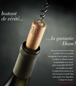 A new campaign from DIAM, on the theme of guardian of aromas.