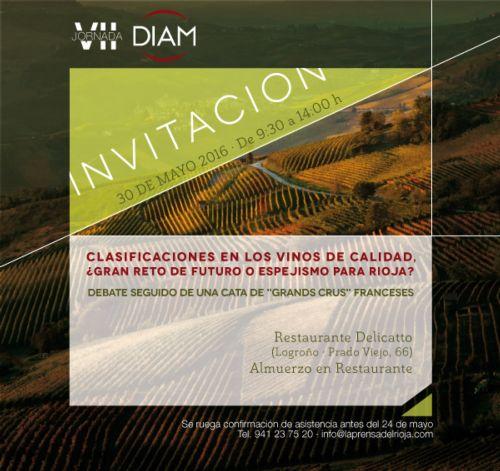 VII Jornada Diam: debate on the classification of Rioja wines